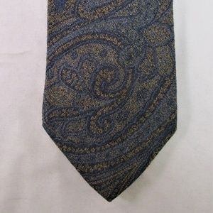 Etro Men's Wool/Silk  Blend Tie